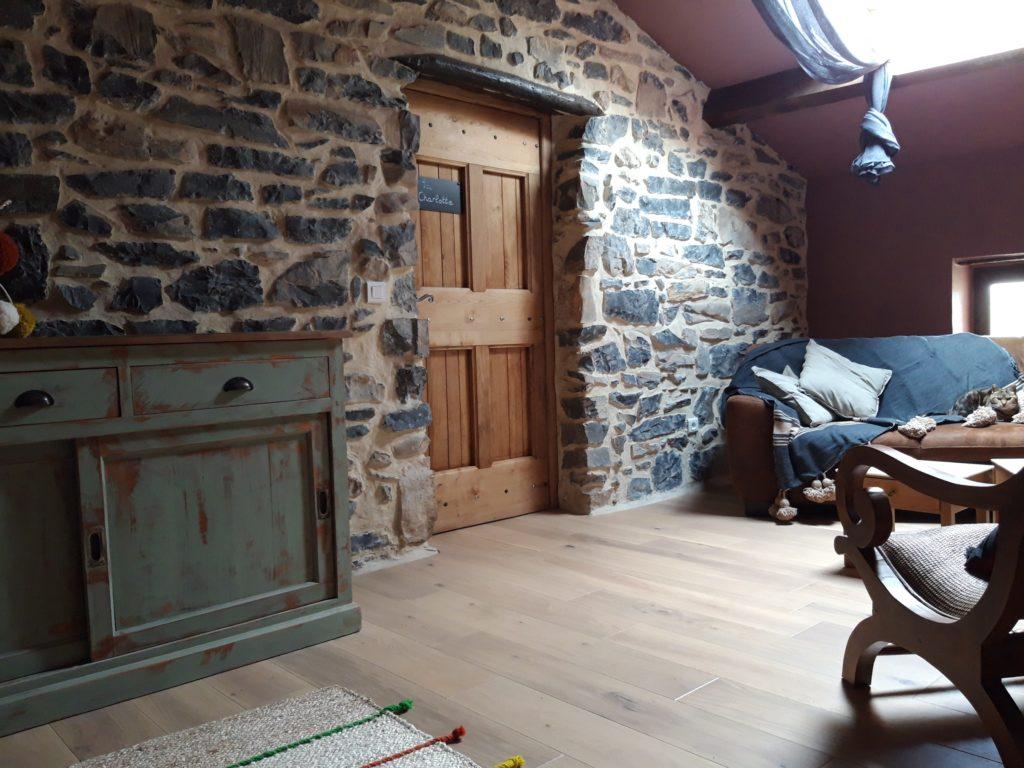 Image du pièce intérieure de la Gourmandine