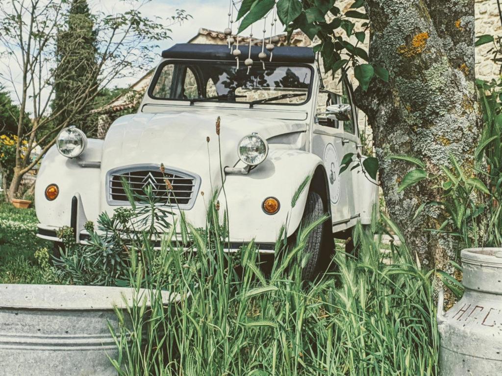 Image de la voiture deux chevaux