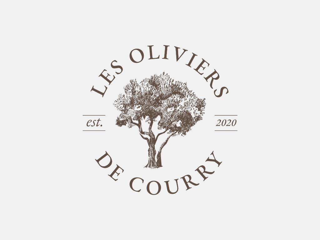 Logo de l'association d'oléiculture à Courry